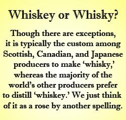 WhiskeyORwhisky
