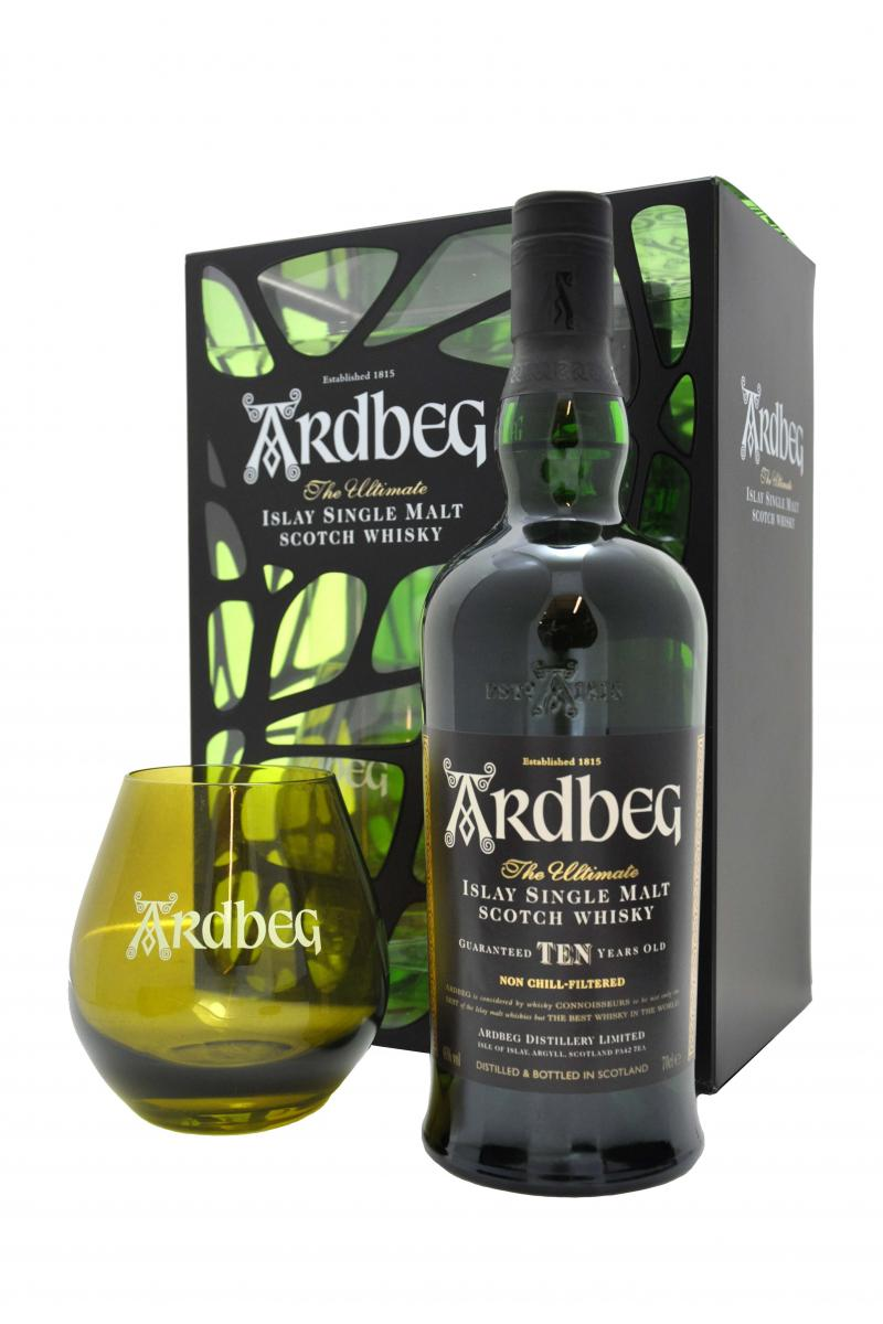 Ardbeg 10 year old gift