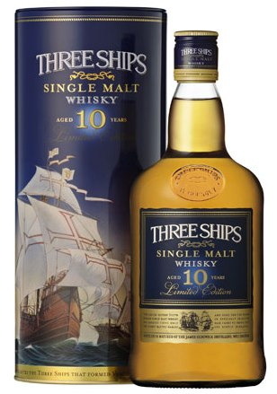 three ships malt whisky