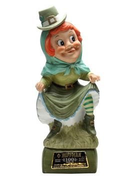 Hoffman Mrs Lucky Leprechaun Musical (Empty) Decanter